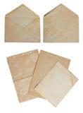 конвертная бумага Стоковые Фотографии RF