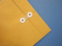 конвертная бумага a4 загерметизировала стоковое фото