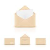 Конверты бумаги Брайна Стоковое Изображение RF