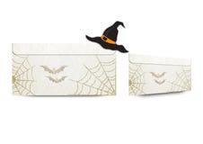 Конверты с побрякушками хеллоуина Стоковое Изображение RF