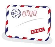 конверт воздушной почты иллюстрация вектора