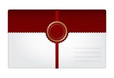 Конверт подарка Стоковое фото RF