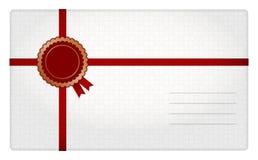 Конверт подарка Стоковое Изображение