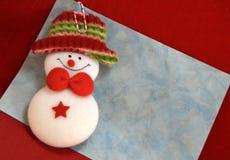 Конверт с Санта Клаусом Стоковые Изображения RF