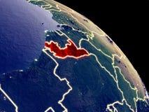 Конго от космоса иллюстрация штока