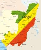Конго иллюстрация вектора