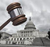 Конгресс и закон стоковые изображения rf