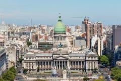 Конгресс нации Аргентины стоковая фотография rf