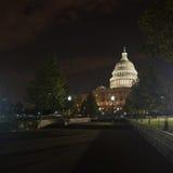 Конгресс на ноче Стоковое фото RF