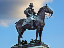 Конгресс США Вашингтон мемориала гражданской войны статуи США Grant Стоковые Фотографии RF