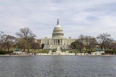 Конгресс США на весне Стоковое Изображение