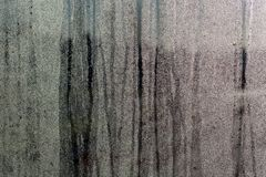 Конденсация на картине adstract стеклянной форточки стоковое фото rf
