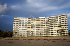 Кондо на пляже Стоковая Фотография