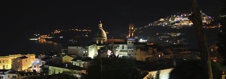 Конематка sul Vietri на ноче стоковые изображения