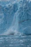 Конец аварии ледника вверх Стоковое Изображение RF