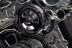 Конец автомобильного двигателя вверх Стоковые Фотографии RF