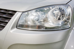 Конец лампы автомобиля вверх Стоковое Фото
