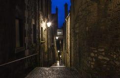 Конец анкера в Эдинбурге Стоковые Изображения RF