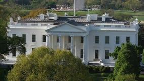 Конец Белого Дома DC Вашингтона вверх сток-видео