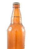 конец бутылки пива вверх Стоковые Изображения