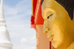 Конец Будды вверх рядом с Стоковое Фото