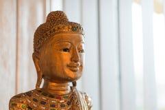 конец Будды вверх стоковая фотография