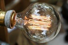 Конец-вверх ламп вольфрама Стоковые Изображения