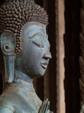 Конец-вверх - лаосец Будда Стоковое Изображение RF