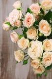 Конец-вверх букета роз Стоковое Изображение RF