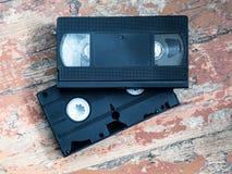 Конец-вверх видео- кассеты 2 Стоковые Фото