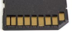 Конец-вверх внезапной карточки SD Стоковая Фотография RF