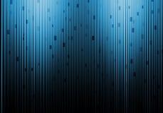 Конец-вверх волоконной оптики, современная техника связи компьютера Стоковые Изображения RF