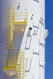 Конец-вверх водонапорной башни под конструкцией Стоковые Изображения