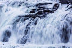 Конец-вверх водопада Стоковые Фото
