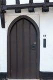 Конец вверх входной двери 63 коттеджа Стоковая Фотография RF