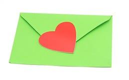 Конец-вверх габарита зеленой бумаги Стоковая Фотография RF