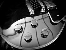Конец-вверх гитары Les Пола Стоковое фото RF