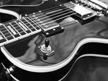 Конец-вверх гитары Les Пола Стоковое Фото