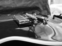 Конец-вверх гитары Les Пола Стоковые Изображения RF