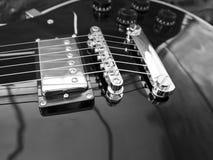 Конец-вверх гитары Les Пола Стоковое Изображение