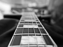 Конец-вверх гитары Les Пола Стоковое Изображение RF