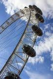 Конец-вверх глаза Лондона стоковые изображения rf