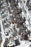 Конец-вверх головки цилиндра автомобиля Стоковая Фотография