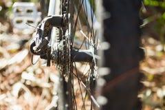 Конец-вверх горного велосипеда Стоковые Фотографии RF
