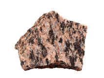 Конец-вверх гранита интрузивные вулканические породы Стоковые Фотографии RF