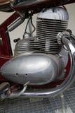 Конец-вверх двигателя мотоцикла Стоковое Изображение RF