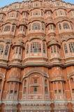 Конец-Вверх Джайпур Hawa Mahal, Раджастхан ИНДИЯ Стоковая Фотография RF