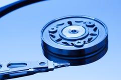 Конец-вверх дисковода жесткого диска Стоковое Изображение