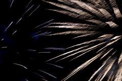 Конец-вверх дисплея фейерверков Стоковое Изображение RF
