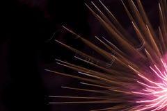 Конец-вверх дисплея фейерверков Стоковые Фото